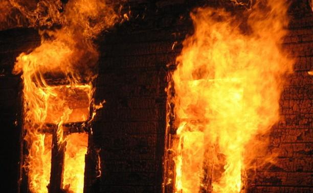 Пожар в центре Тулы был на территории воинской части