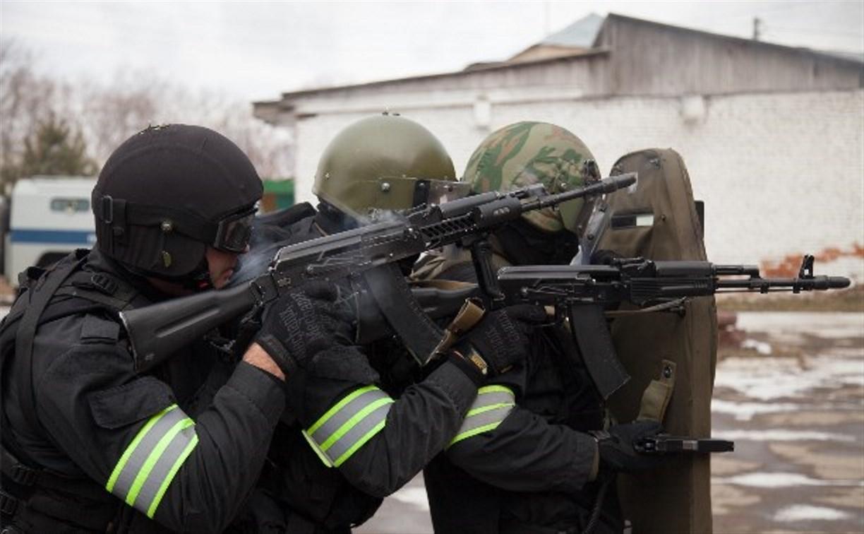 В Щёкино полицейские «штурмовали» здание отдела МВД