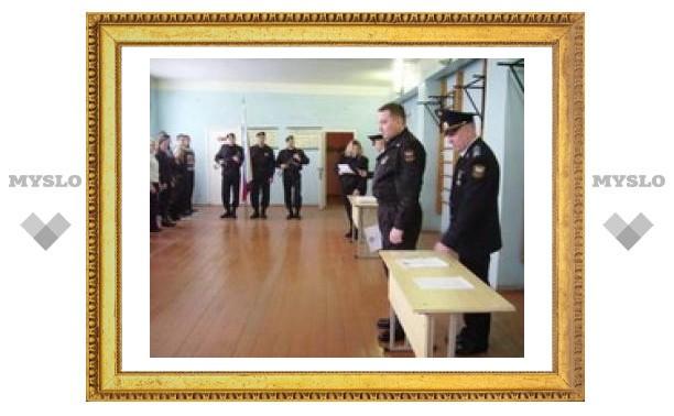 В Туле судебные приставы приняли присягу