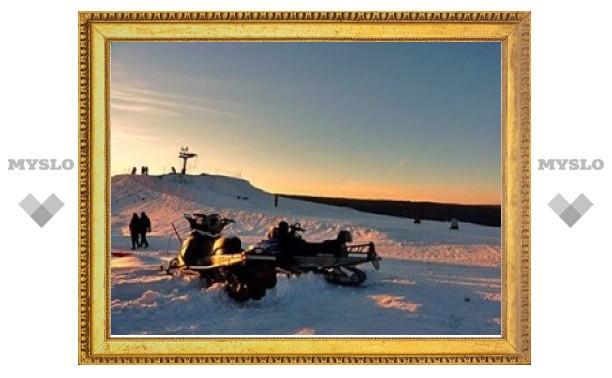 В Латвии пастор проведет бракосочетание на лыжной горке