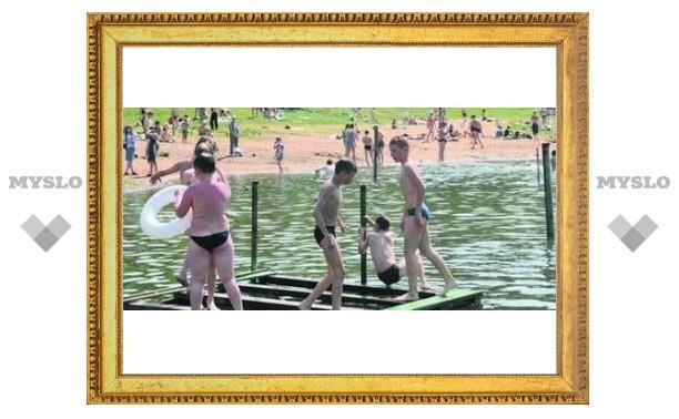 Летом в Туле откроют для купания всего два водоема