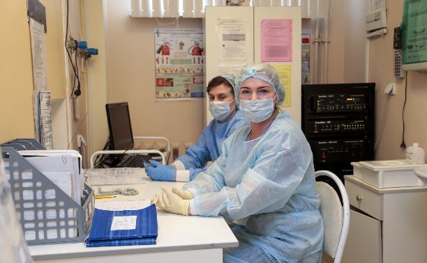За сутки в Тульской области вновь выросло количество заболевших коронавирусом