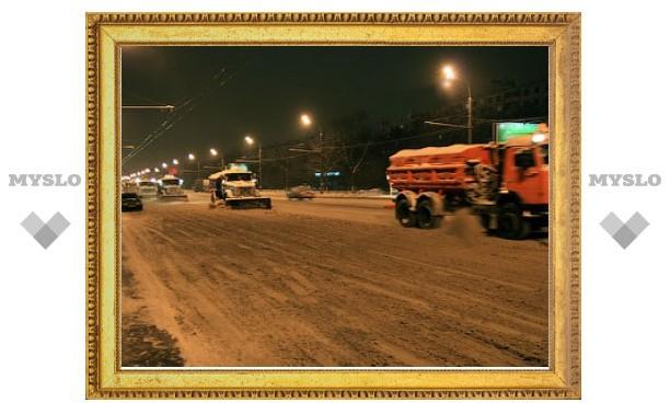 С 1 ноября на улицах Москвы будут дежурить снегоуборочные машины