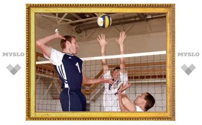 Лидеры Тульской волейбольной лиги уходят в отрыв