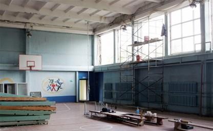 В Тульской области начали ремонт коррекционной школы-интерната