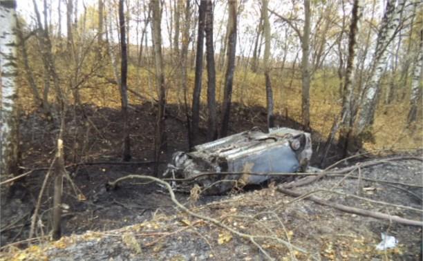 В Щёкино произошло лобовое столкновение автомобилей «ВАЗ-2113» и «Тойота»