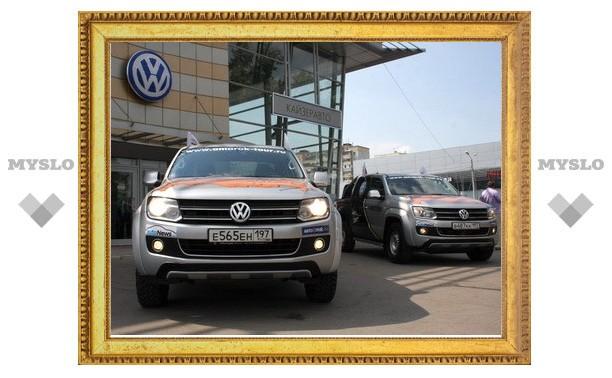 «Большое путешествие Volkswagen AMAROK» доехало до Тулы