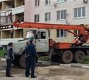 На месте ДТП в Веневе начались восстановительные работы