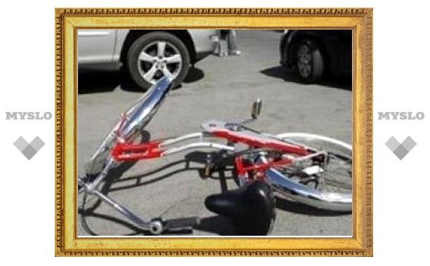 В Туле сбили велосипедиста