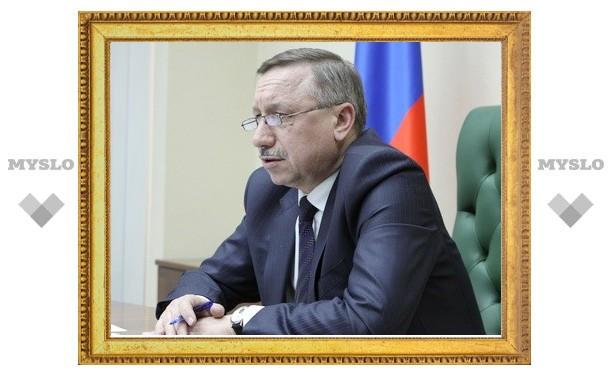 Полпред Александр Беглов остался недоволен тульскими дорогами