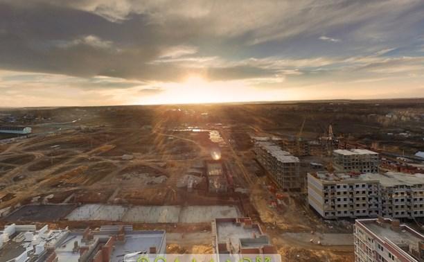 В Туле можно совершить 3D-тур по новому микрорайону