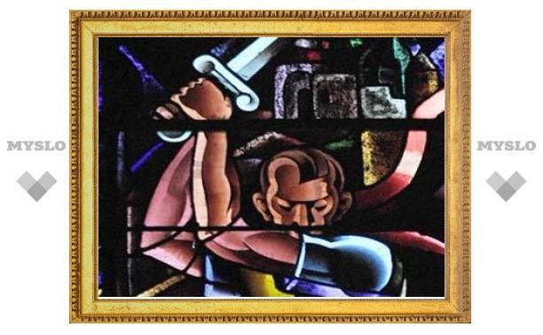 Во французской церкви нашли изображение Гитлера в образе царя Ирода