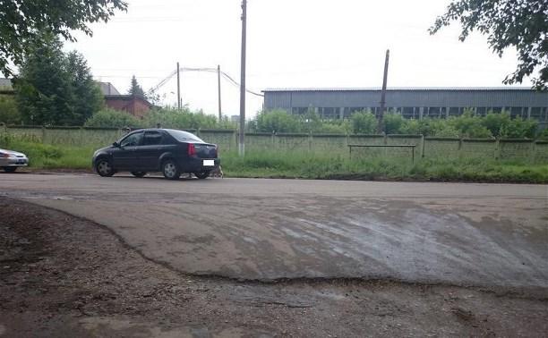 В Алексине женщина-водитель врезалась в «шестёрку» с пьяным водителем без прав