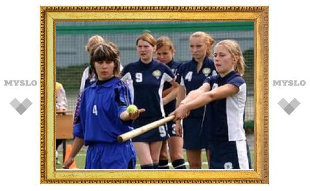 Тульская женская сборная по лапте стала третьей на чемпионате в Анапе