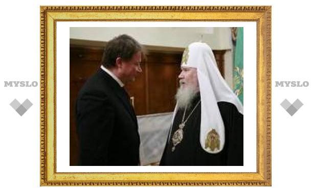 Вячеслав Дудка поздравил патриарха