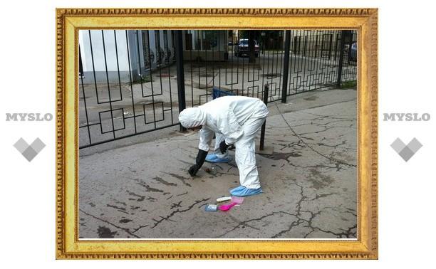 МЧС провело очистку места, где в Туле разлилась ртуть