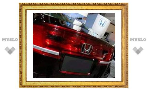 Новая Honda Accord попала в сеть