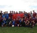 Тульские журналисты сыграли в футбол на берегах Волги