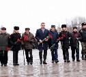 Алексей Дюмин возложил цветы к Вечному огню на площади Победы