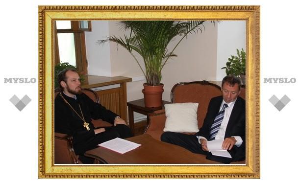 Заместитель председателя ОВЦС встретился с депутатом Государственной Думы С.А.Марковым