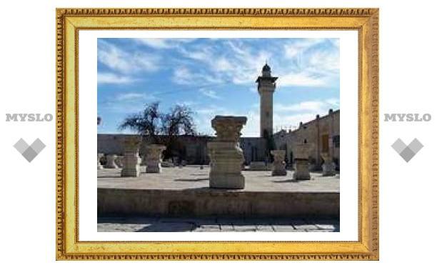 Участок вокруг Храмовой горы превращается в кладбище