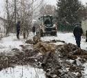 В частном секторе Пролетарского округа Тулы фекалии сливали в ливневую канализацию