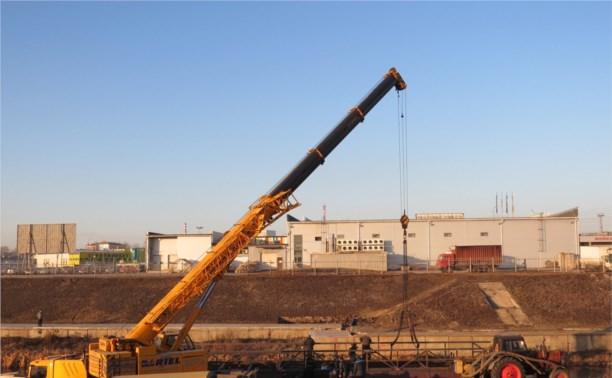 22 ноября в Туле начали установку нового моста