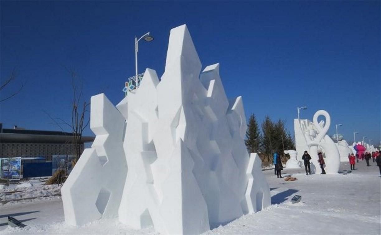 Туляк принял участие в международном фестивале снежной скульптуры