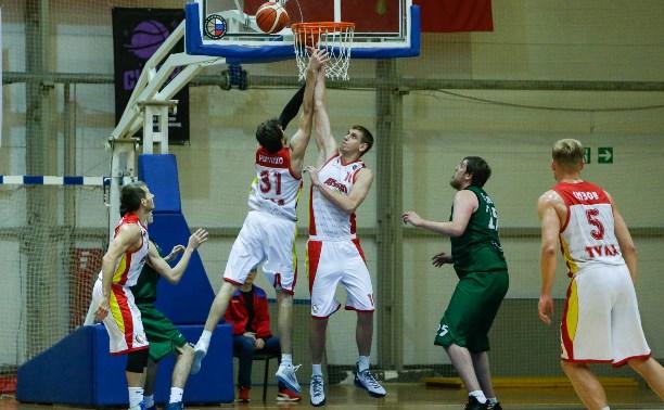 Тульские баскетболисты «Арсенала» обыграли черкесский «Эльбрус»