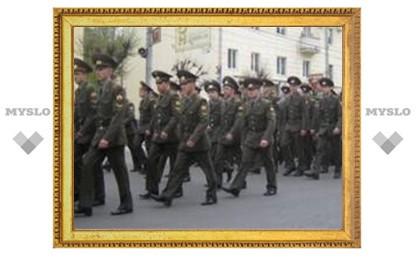 В Туле проходит репетиция парада