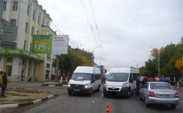 В авариях в Тульской области пострадали два пешехода