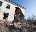 В Туле рушится заброшенное здание ПТУ в Скуратово