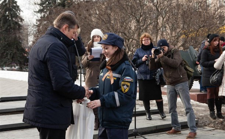Тульским школам вручили ордена Ленина и макеты медали «Золотая Звезда»