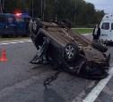 Под Тулой в ДТП разбился таксист, беременная пассажирка жива