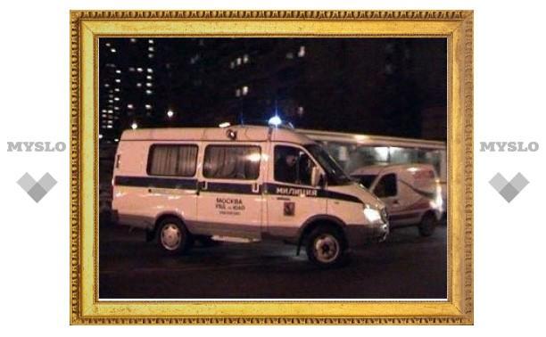 В Москве сожгли патрульную машину милиции