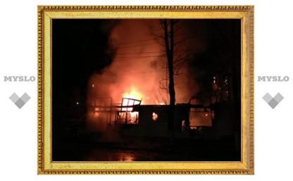 В центре Тулы - серьезный пожар