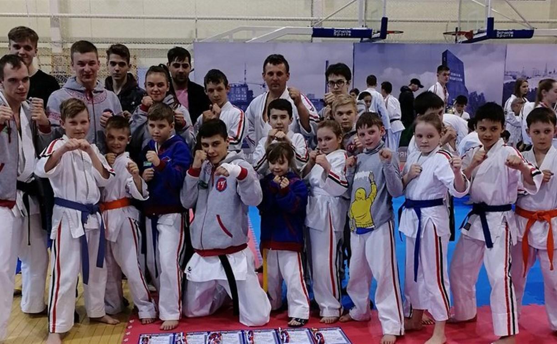 Тульские каратисты успешно выступили на Кубке России в Брянске