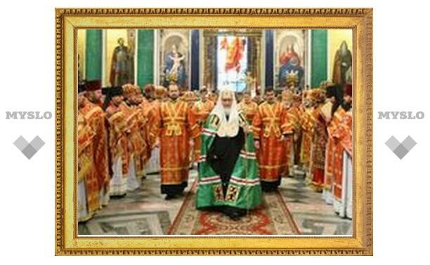 Патриарх Кирилл посетит Петербург