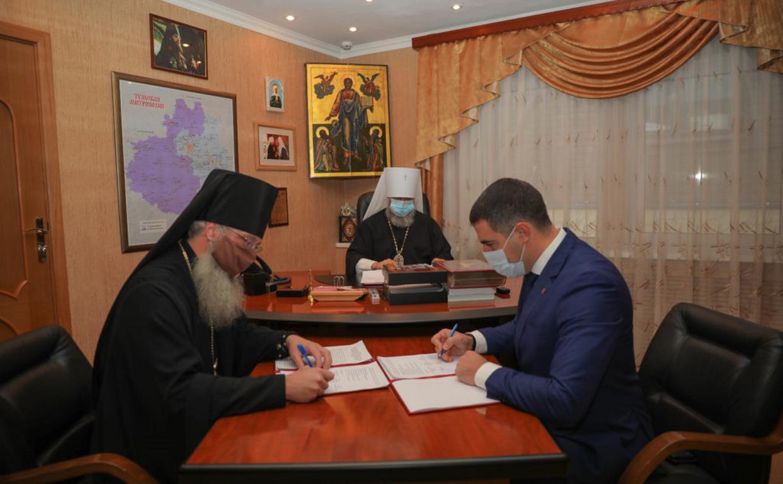 Министр здравоохранения Тульской области: «Молитвы о медиках и людях, переносящих недуги, очень помогают»