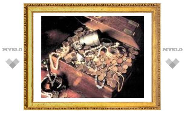 В Туле нашли клад