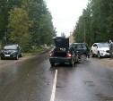 В Суворове в столкновении «Нивы» и «Приоры» пострадал 21-летний пассажир