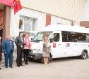 Тульским спортивным школам передан микроавтобус