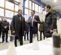 Губернатор Алексей Дюмин посетил Алексинский химический комбинат