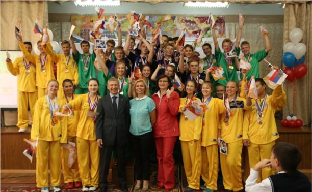 МегаФон провёл в Туле «Олимпийский урок» для школьников