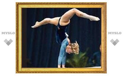 Тульские гимнастки стали чемпионками