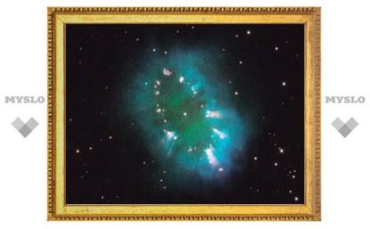"""""""Хаббл"""" сфотографировал космическое ожерелье и восклицательный знак"""