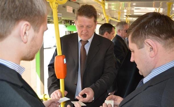 Тульские автобусы могут остаться без кондукторов