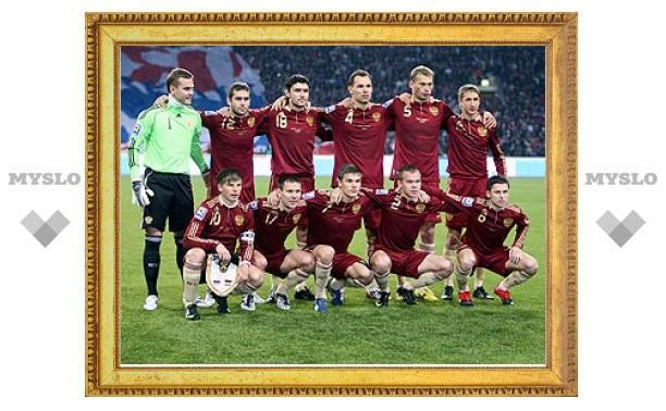 Сборная России по футболу перед ЧМ-2010 переоденется в новую форму