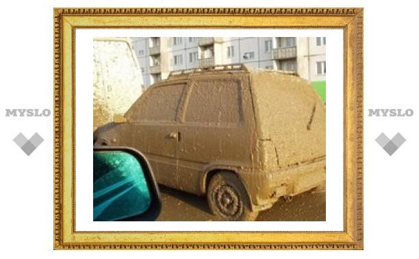 В Туле запретят ездить на грязных авто?