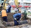 Как в Туле устраняют коммунальную аварию на ул. Братьев Жабровых: фото и видео